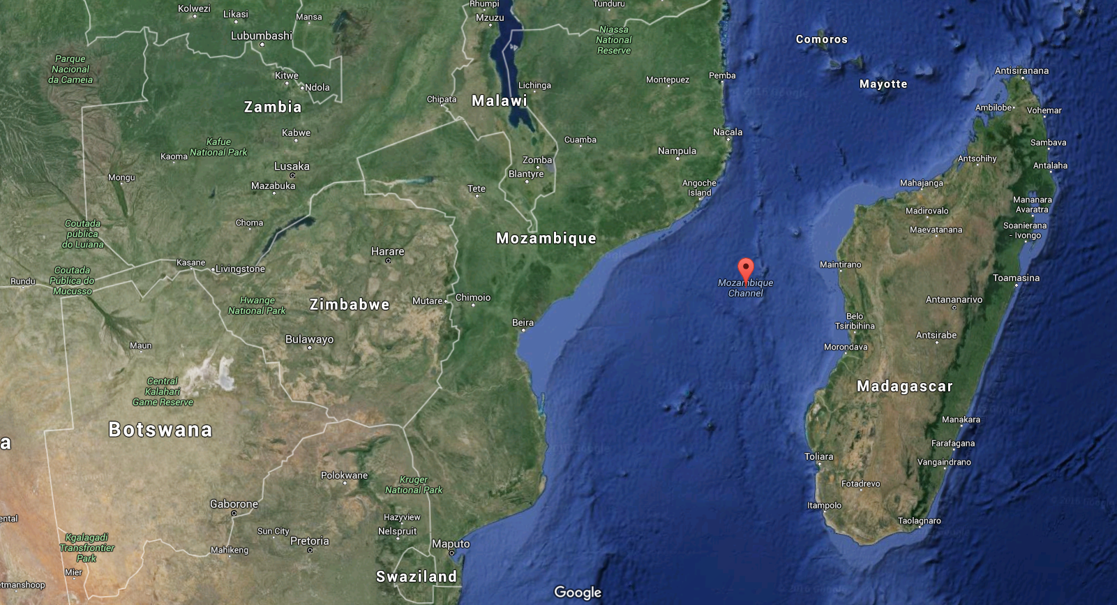Mozambique Channel | Waterbos.org on
